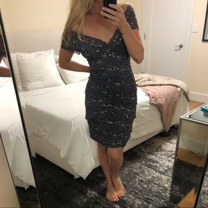 Marina Blue Cocktail Dress